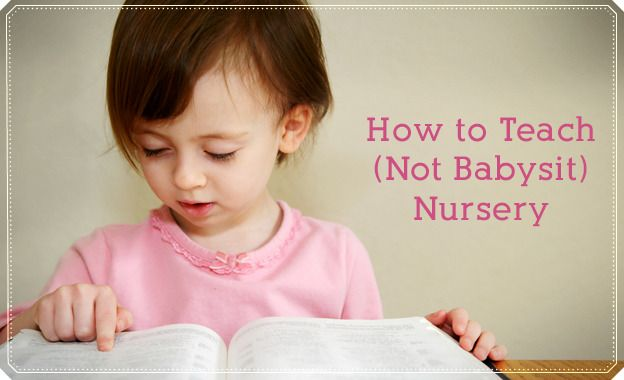 How to teach (not babysit) nursery,  As the second councilor in Primary.  This is something we should be teaching our leaders. Nursery can be fun....
