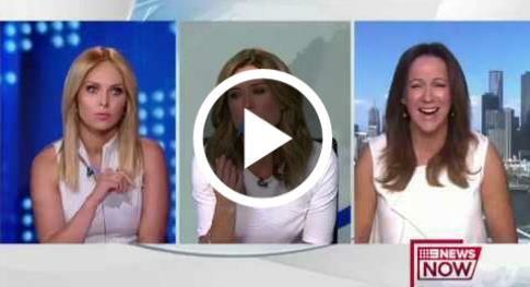 Australian News Anchors Meltdown Over Dress Color     http://petmidas.com/2017/03/09/australian-news-anchors-meltdown-over-dress-color/