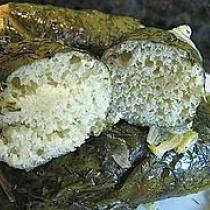 Ukrainian Bread Stuffed Beet Leaves or Holubtsi z Khlibnoho Testu Zapovnennya - © katbaro on Flickr.