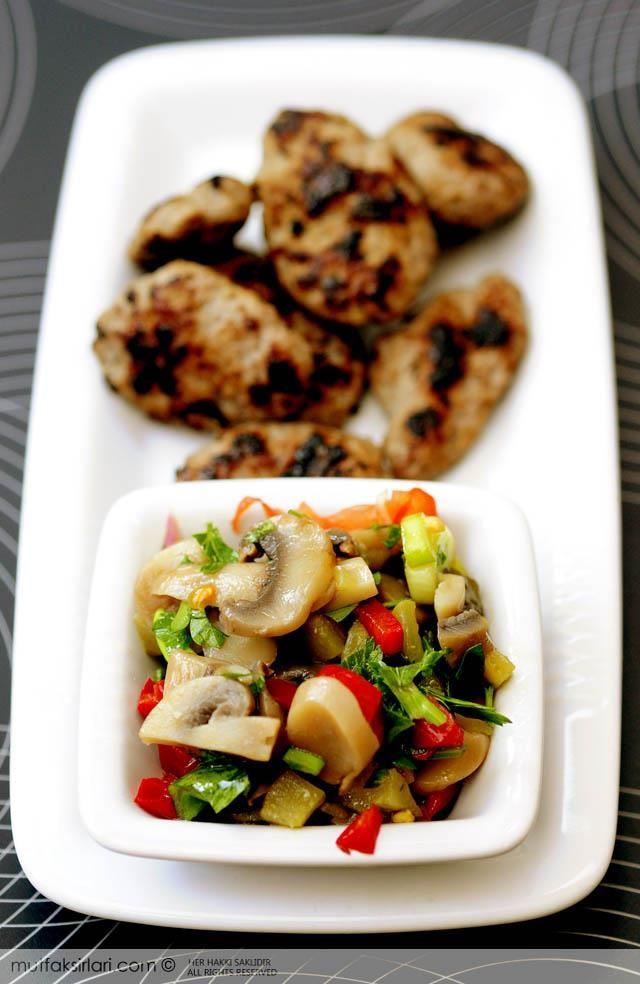 Pratik Mantar Salatası Tarifi   Mutfak Sırları