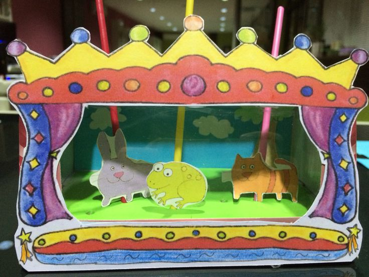 DIY Mini Puppet Theatre