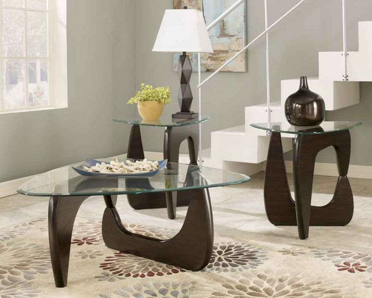centerpieces for a triangle glass coffee table Google Search