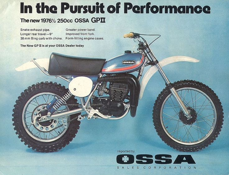 The 96 best ossa motos images on pinterest dirt biking 1976 ossa advertisement cheapraybanclubmaster Image collections