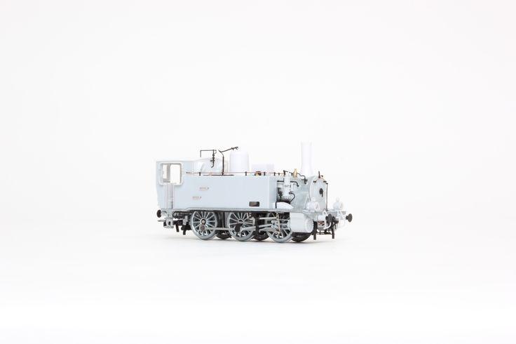 HL2670  Locomotiva a vapore FS Gr. 851 110 con lampada ad olio, ep. III