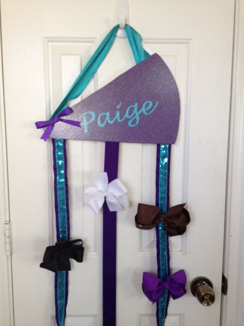 Hey, I found this really awesome Etsy listing at https://www.etsy.com/listing/174572079/custom-cheer-cheerleading-hair-bow