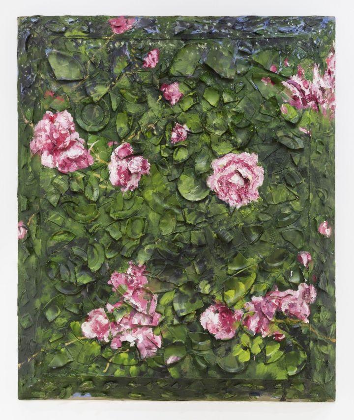 Julian Schnabel's Flowers