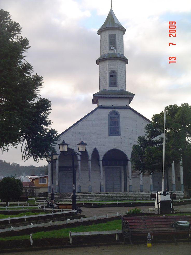 Catedral de Ancud.Isla de Chiloé