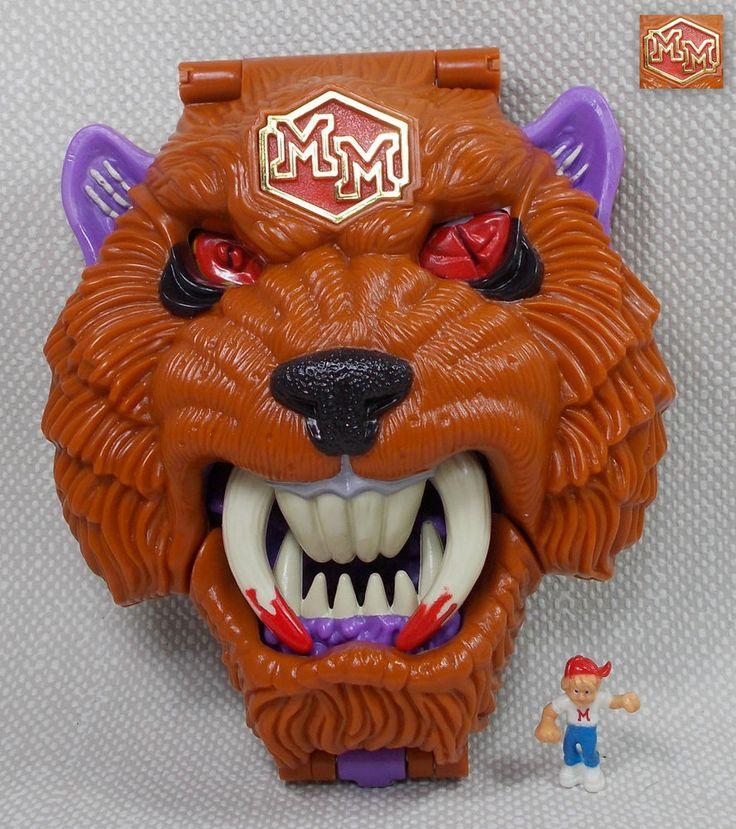 Mighty Max - Grapples Battlecat / Hellcat - Doom Zones - Bluebird Toys 1993 21