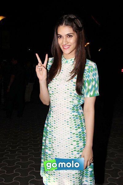 Kriti Sanon at the Screening of Hindi movie 'Dilwale' at PVR ICON in Versova, Mumbai