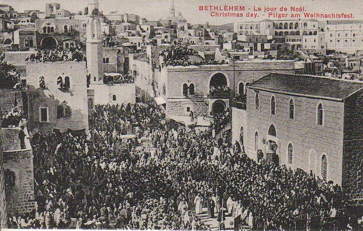 Bethlehem Christmas, early 1900s