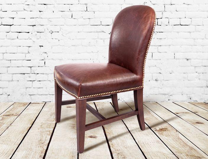 Good Modern Rustic Leather Dining Chair Http://www.TaramundiFurniture.com Rustic  Chic Images