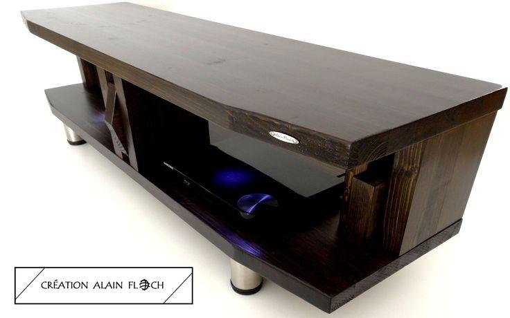 17 meilleures id es propos de meuble tv led sur pinterest tv mont sur le - Eclairage led pour meuble tv ...