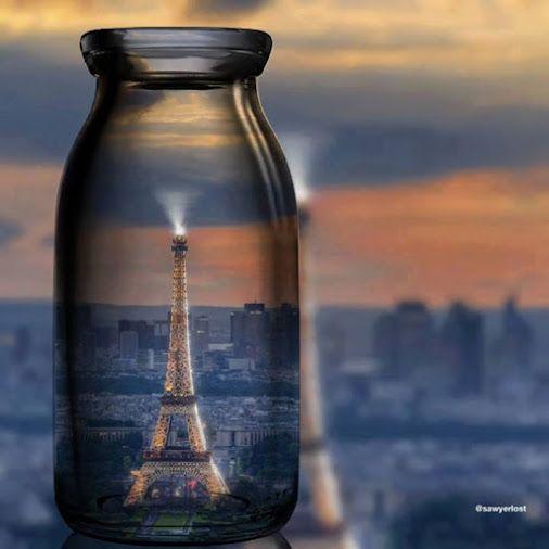 Es gibt viele tolle Bilder vom Eiffelturm. Aber ich finde das hier ist eines…