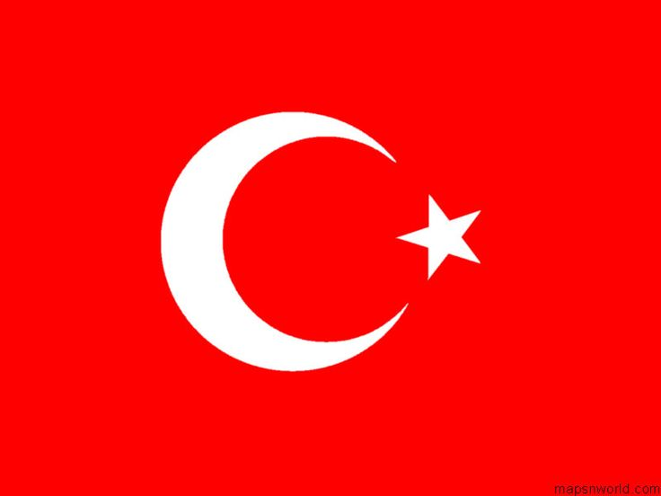 Flag of Turkey🔹🔹💥FLAGS OF THE WORLD : More Pins Like This At FOSTERGINGER @ Pinterest 💥🔹🔹