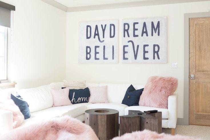 Tulsa Home Tours – Charming Midtown Home, teen game room, teen room, game room decor,
