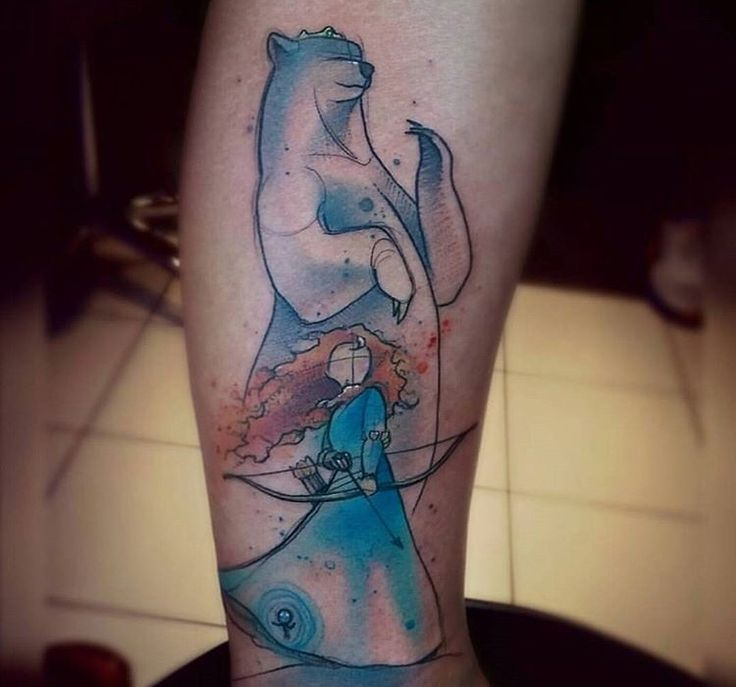 Wow. Brave Tattoo - Disney