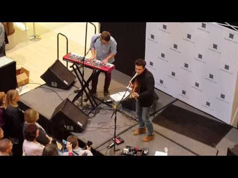 Kris Allen 11/12/16 CT christmas