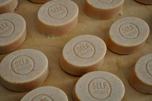 'AM to PM' soap -  organic soap infused with lemon grass and grapefruit essential oils. Food for the skin!