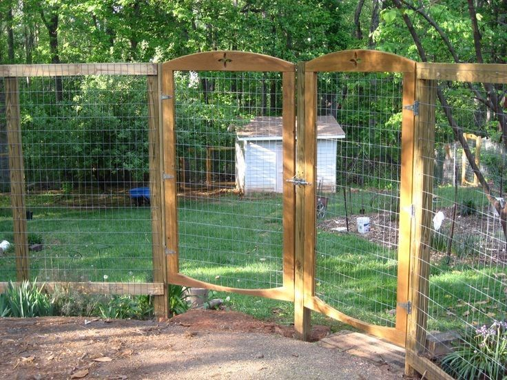 Garden Fence And Gate Ideas find this pin and more on fencegate designs Garden Fencing To Keep Deer Out And Chickens In I Like This Simple Style