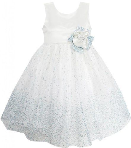 Mädchen Kleid Blau Punkt Shinning Hochzeit Festzug Brautjungfer Sunboree, http://www.amazon.de/dp/B00JIBEFGM/ref=cm_sw_r_pi_dp_Bi8vtb1461EV3