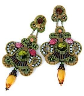 Earrings by Dora Csengeri