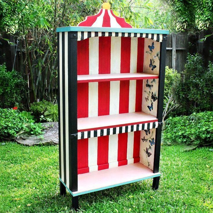 Alice In Wonderland Bookcase
