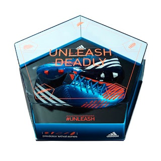 Packaging of the World: Creative Package Design Archive and Gallery: Adidas Predator Unleash Deadly Box