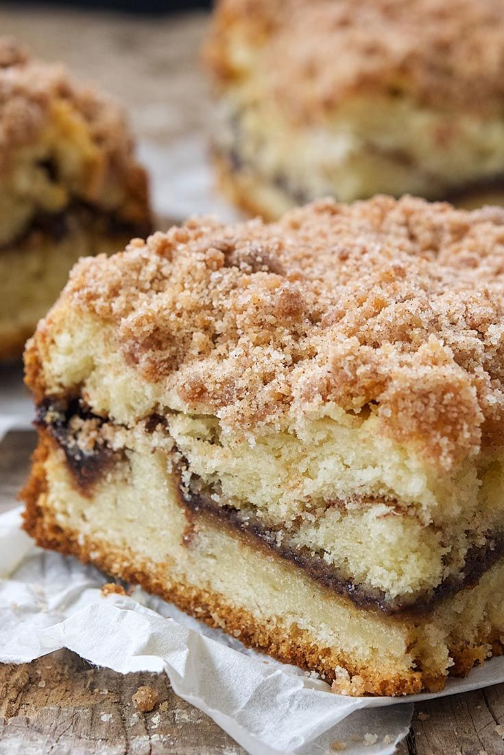 Tender, moist, golden cake with an inner swirl of cinnamon and a crumbly streusel topping. Cinnamon-Streusel Coffeecake King Arthur Flour