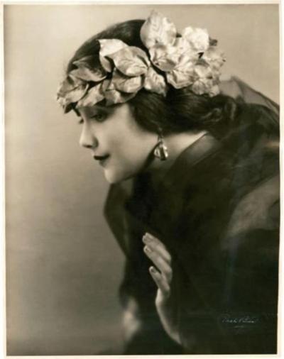 Jetta Goudal (1891-1985) - Dutch Born, American Actress. Circa 1915-1920.
