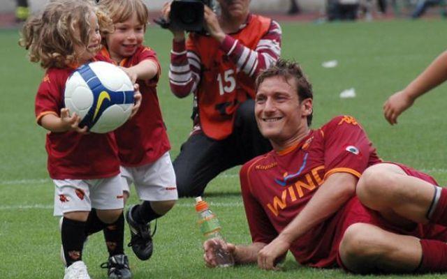 Roma, sulle orme di papà: Cristian Totti fa il provino per i 2004