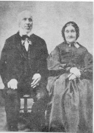 John Olver I (1790-1866) & Sarah Aunger (1793-1880)