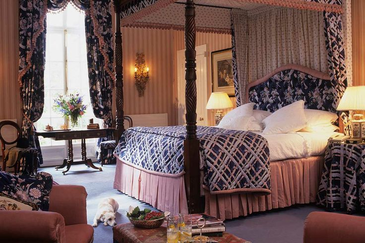The Morland Room, one of the State Rooms at Marlfield House Luxury Hotel in Ireland