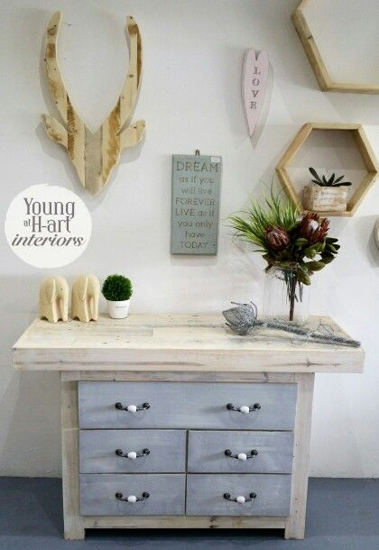 Carla Chest of Drawers. Techniqued by local artist and hand crafted locally in JHB, South Africa. Lets support homegrown businesses! www.youngath-art.com