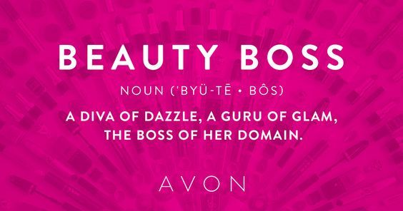 Learn how to become an Avon Beauty Boss and run your business when you want, where you want, how you want. Sign up today at www.startavon.com use Avon reference code: MY1724 #directsales #bizopp #incomeopportunity #mompreneur #entrepreneur #sellonline #avon #men #athomejobs