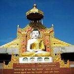 at the global vipassana pagoda