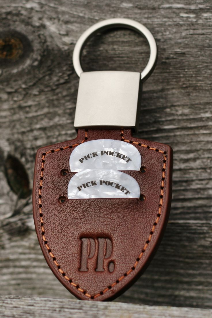Guitar pick holder / keychain