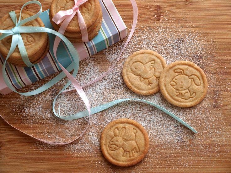 Máslové sušenky ze špaldové mouky