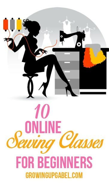 Want to learn to sew but don't know how? Check out these 10 sewing classes online. Perfect for beginner and novice sewers!