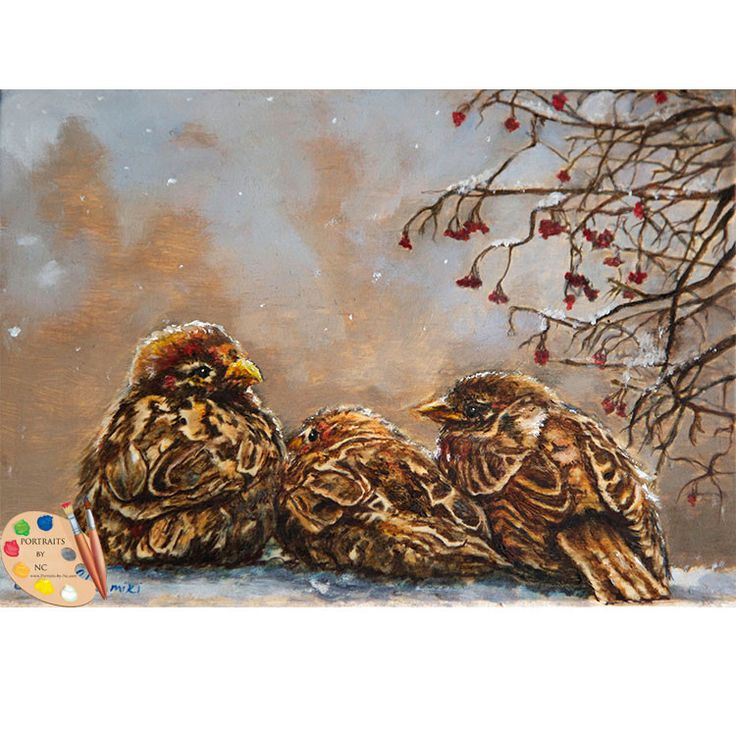 Sparrow Painting Keeping Company 186