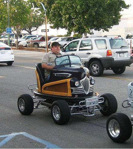 one seat convertible