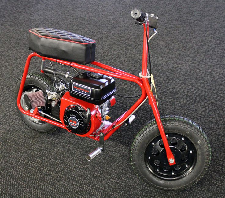 Exceptional Custom Mini Bike