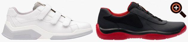 Prada Schuhe Herren im Business Stil & Designer Sport Sneaker – Online Sale