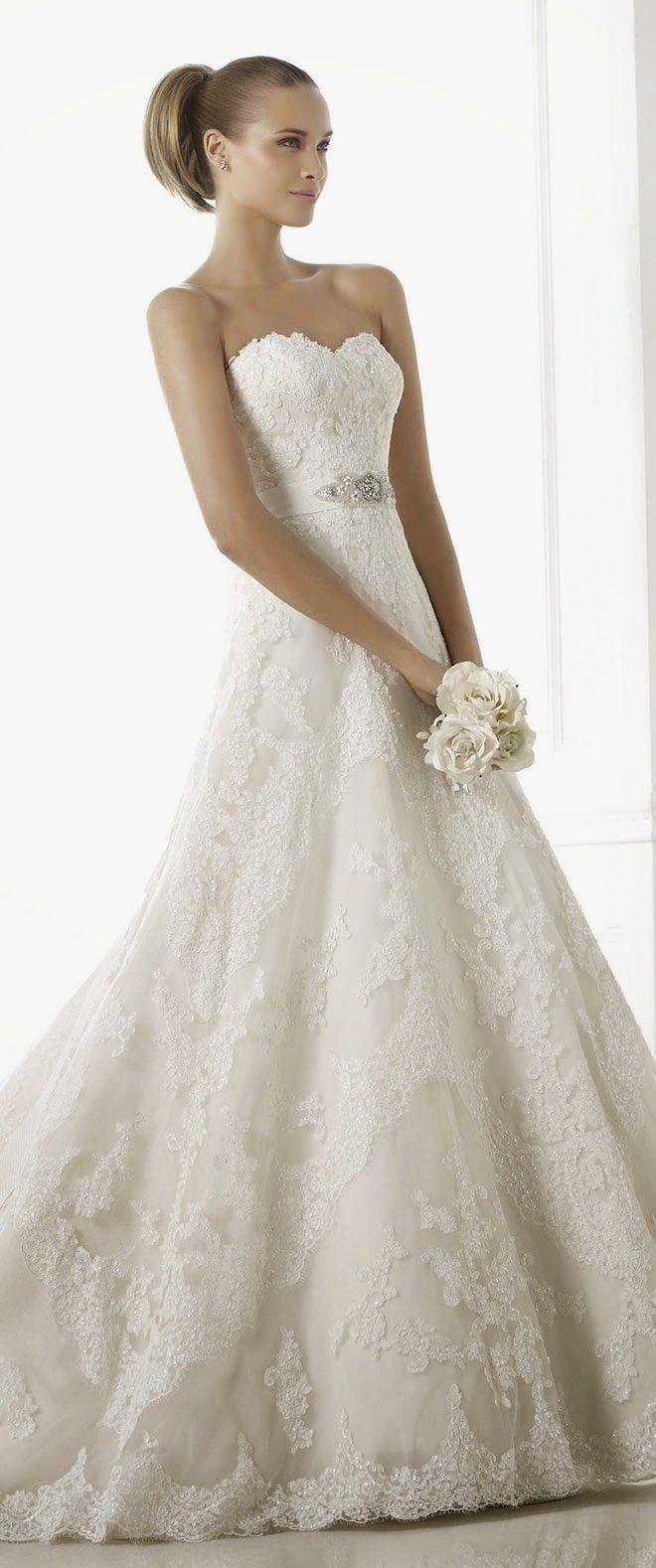 Pronovias Costura 2015 Bridal Collection   bellethemagazine.com