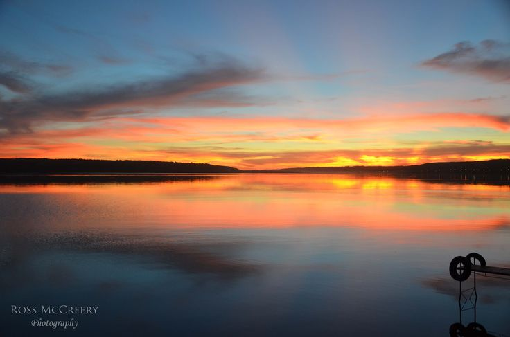 """There's a reason they call the province of Saskatchewan """"Land of The Living Skies"""" Taken on Echo Lake, Fort Qu'appelle, SK"""