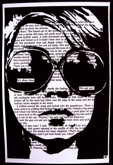 Black out poetry  (ctto)