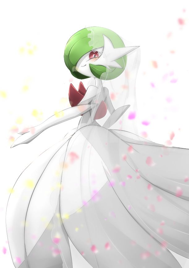 This is my Gardevoir. I got her from Pokemon Champion Diantha and I love to help her train. Gardevoir is a Level 37 and modest. I aim to help her grow and in time beat Diantha's own Gardevoir.