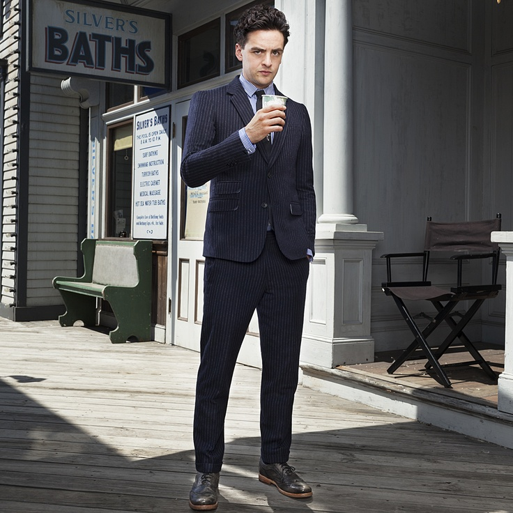 "When Vincent Piazza found himself working with Martin Scorsese on the Boardwalk Empire pilot, he tried, and failed, to keep his cool between takes. ""I was stuttering and stammering, convinced I was going to get fired,"" he says. Read more about Piazza and the other creeps, psychos, and goons that make Boardwalk Empire the most stylish show on television in our September 2012 issue, on sale now."