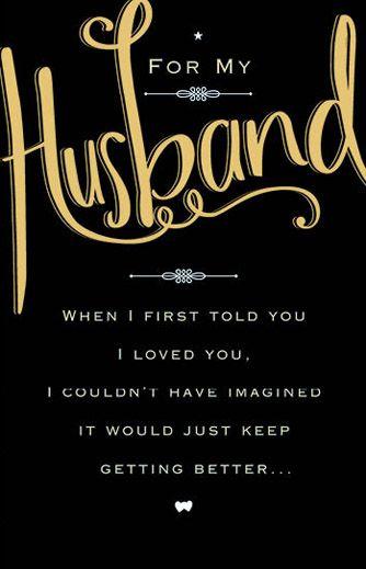 www.sagreetings.c... CARLTON CARDS -#husband