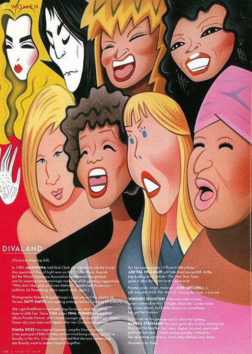 Divaland: Vanity Fair November 1998