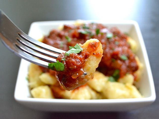 1000+ images about Gnocchi on Pinterest | Butter, Portobello and ...